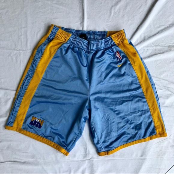 nike shorts denver nuggets nba poshmark rh poshmark com
